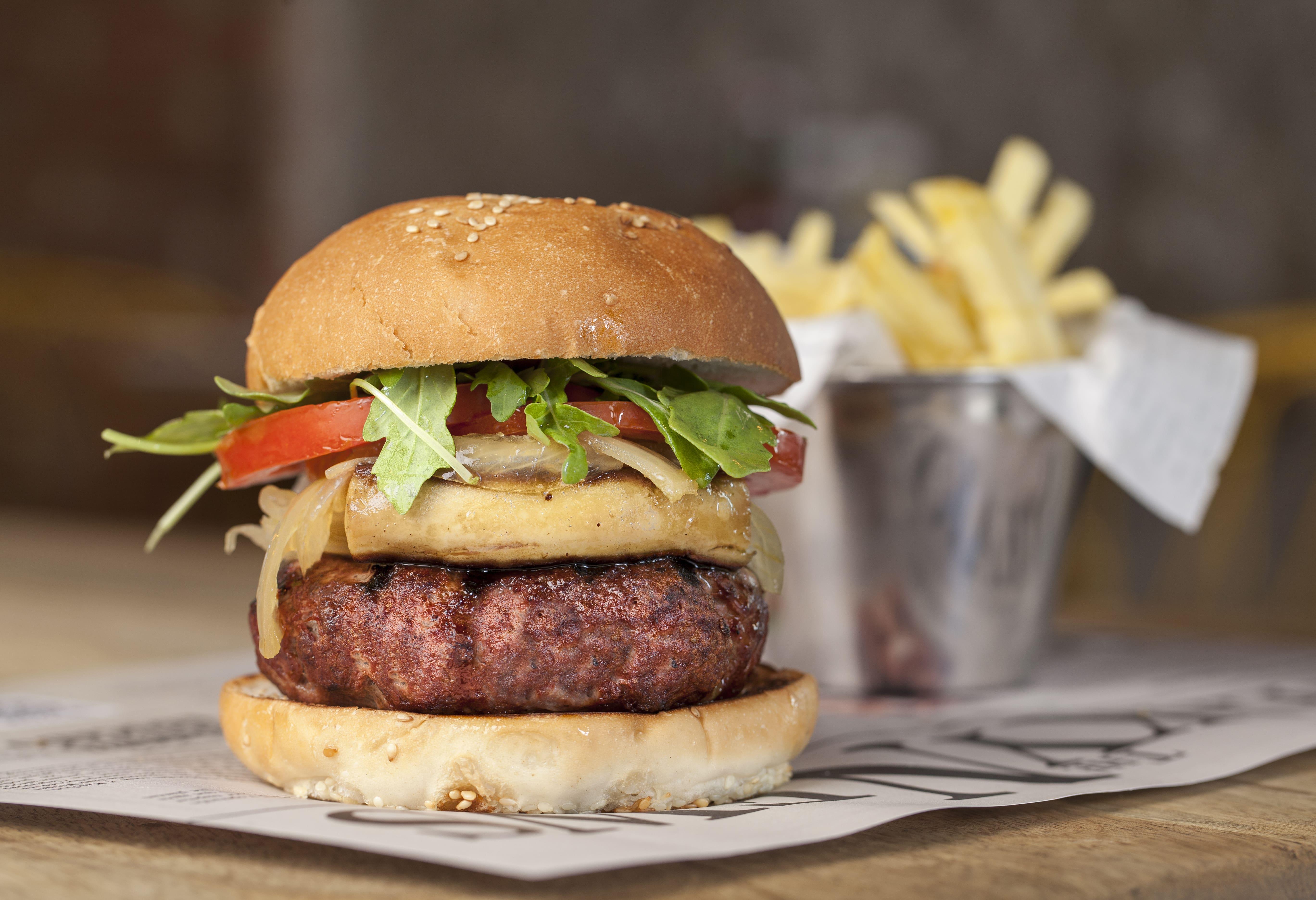Comida americana: protagonismo de la hamburguesa