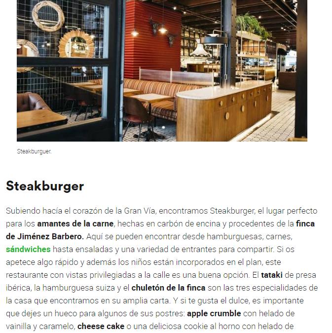 Restaurantes para comer este puente en familia en el centro de Madrid