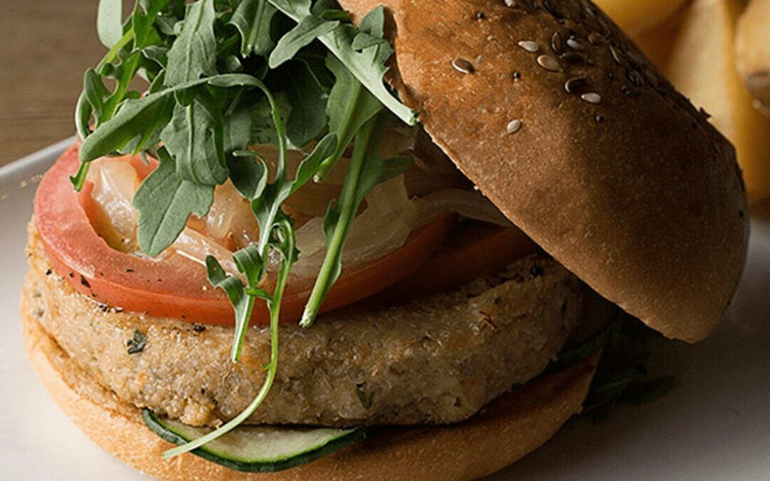 Hamburguesa veggie: ingredientes
